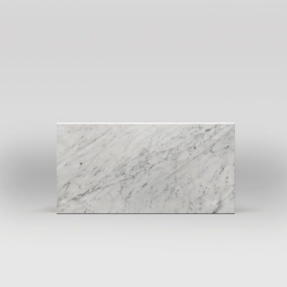 White Carrara Polished 6