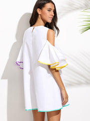 Disfrutar Keyhole Back Dress
