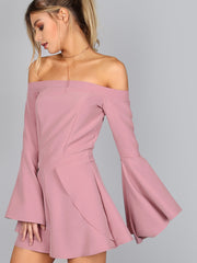 Mauvelous Sleeve Romper