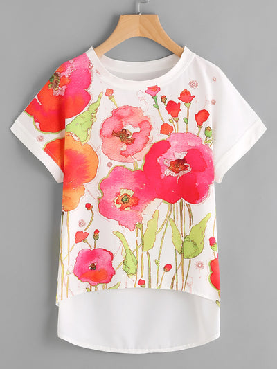 Giverny Floral Top