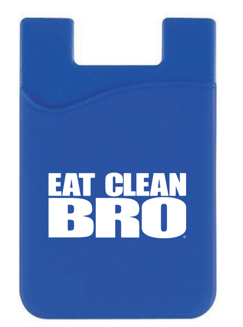 Eat Clean Bro Cell Phone Pocket