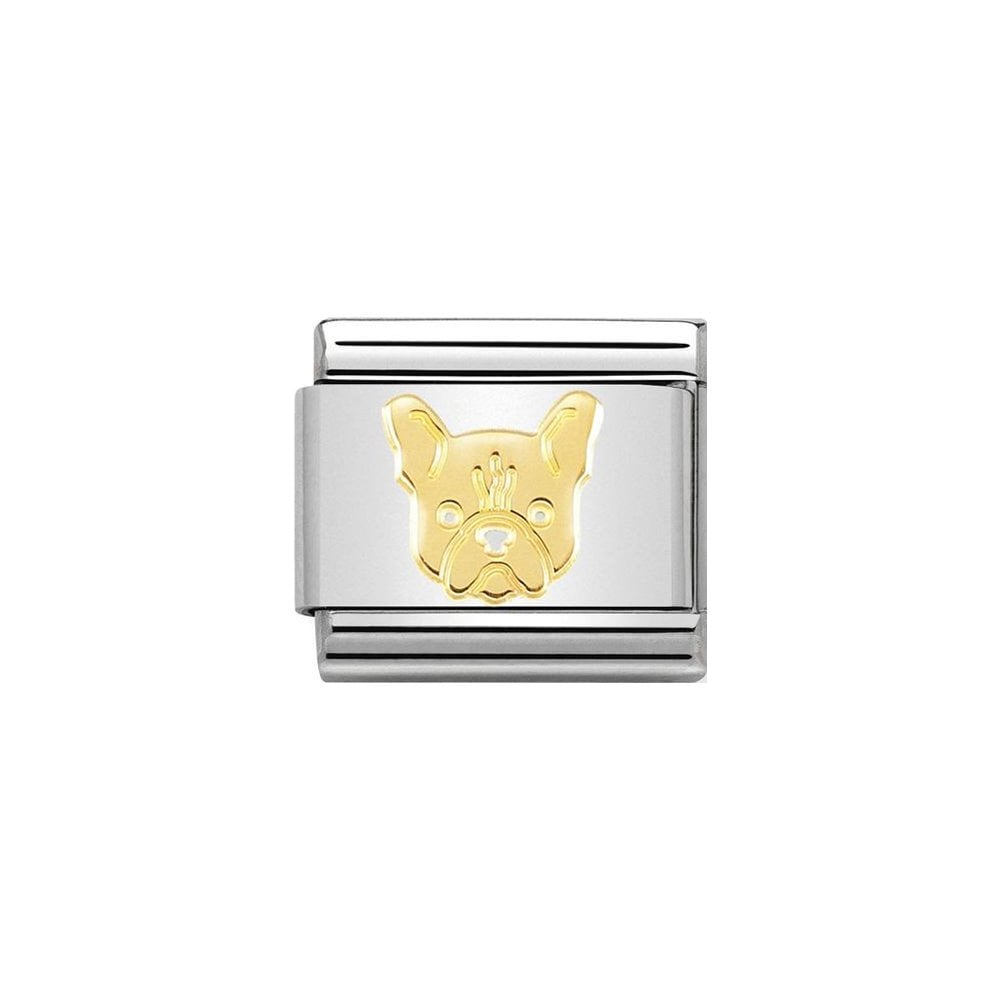 Nomination Classic Gold French Bulldog Charm - S&S Argento