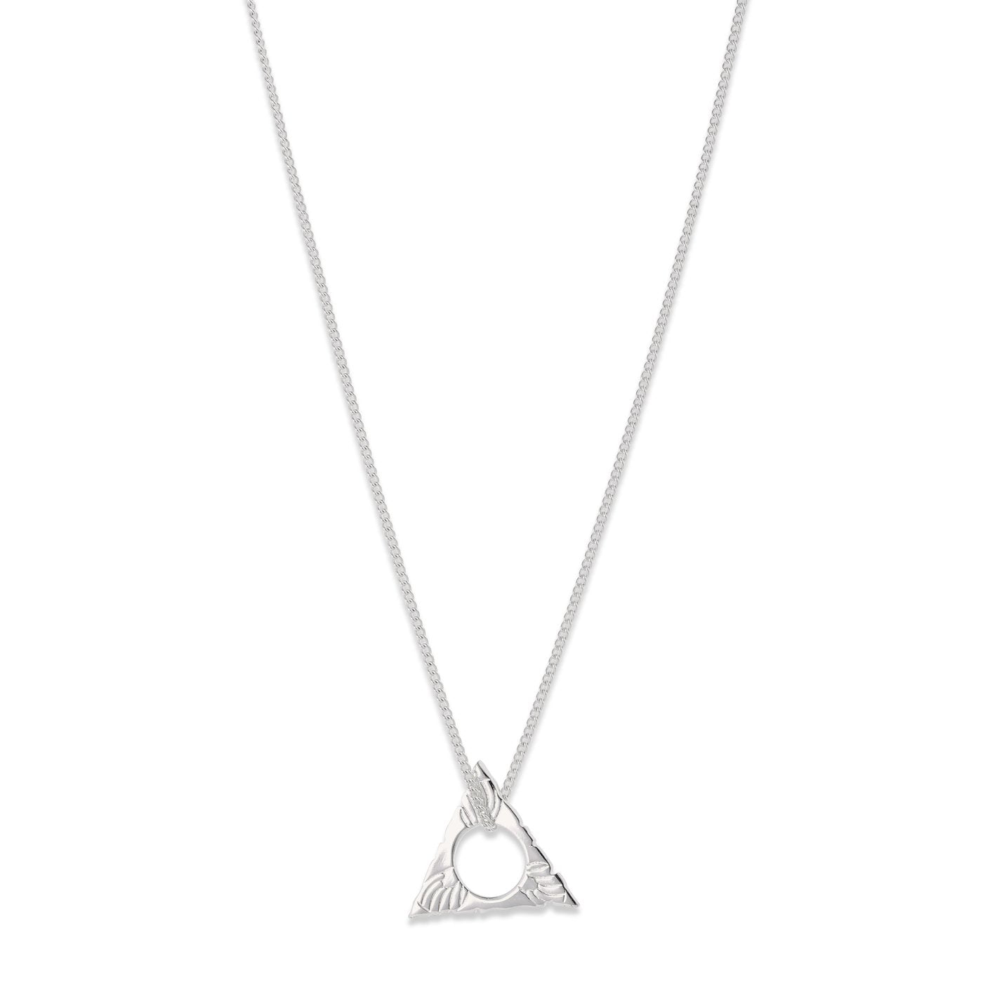 Pilgrim Sigyn Triangular Necklace
