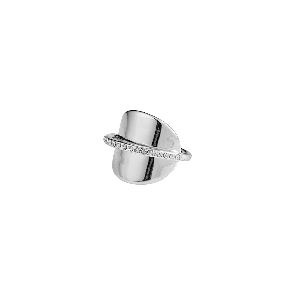 Pilgrim Beauty Silver and Cubic Zirconia Ring - S&S Argento