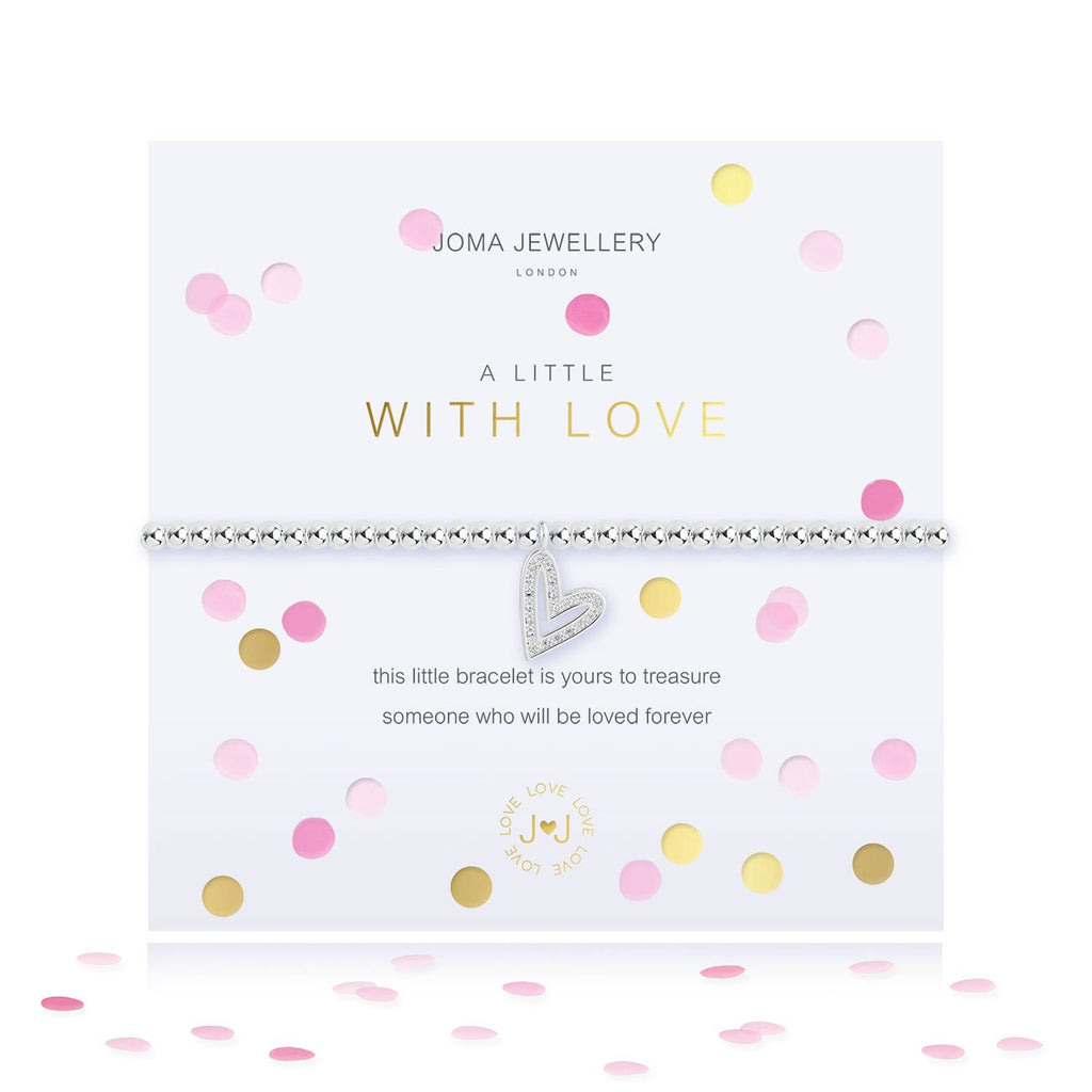 WITH LOVE BRACELET - CONFETTI A LITTLE