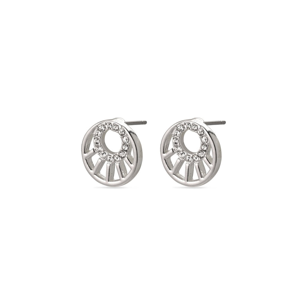Pilgrim Cassie Stud Earrings - S&S Argento