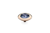 Rose Gold Tondo 13mm Lavender - S&S Argento