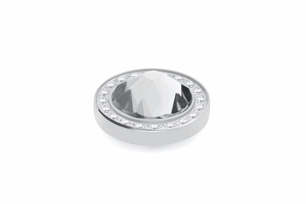 Stainless Steel Canino Deluxe 10.5mm Crystal - S&S Argento