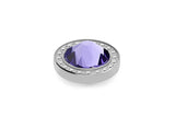 Stainless Steel Canino Deluxe 10.5mm Tanzanite - S&S Argento