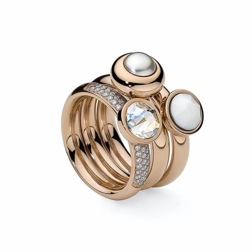 Rose Gold Slim Deluxe Ring - S&S Argento