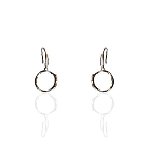 Silver Ring Earrings - NCE3