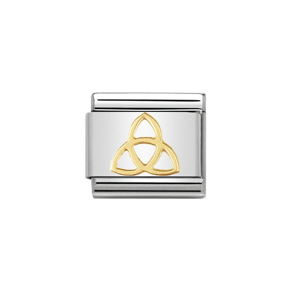 Nomination Classic Gold Trinity Knot Charm - S&S Argento