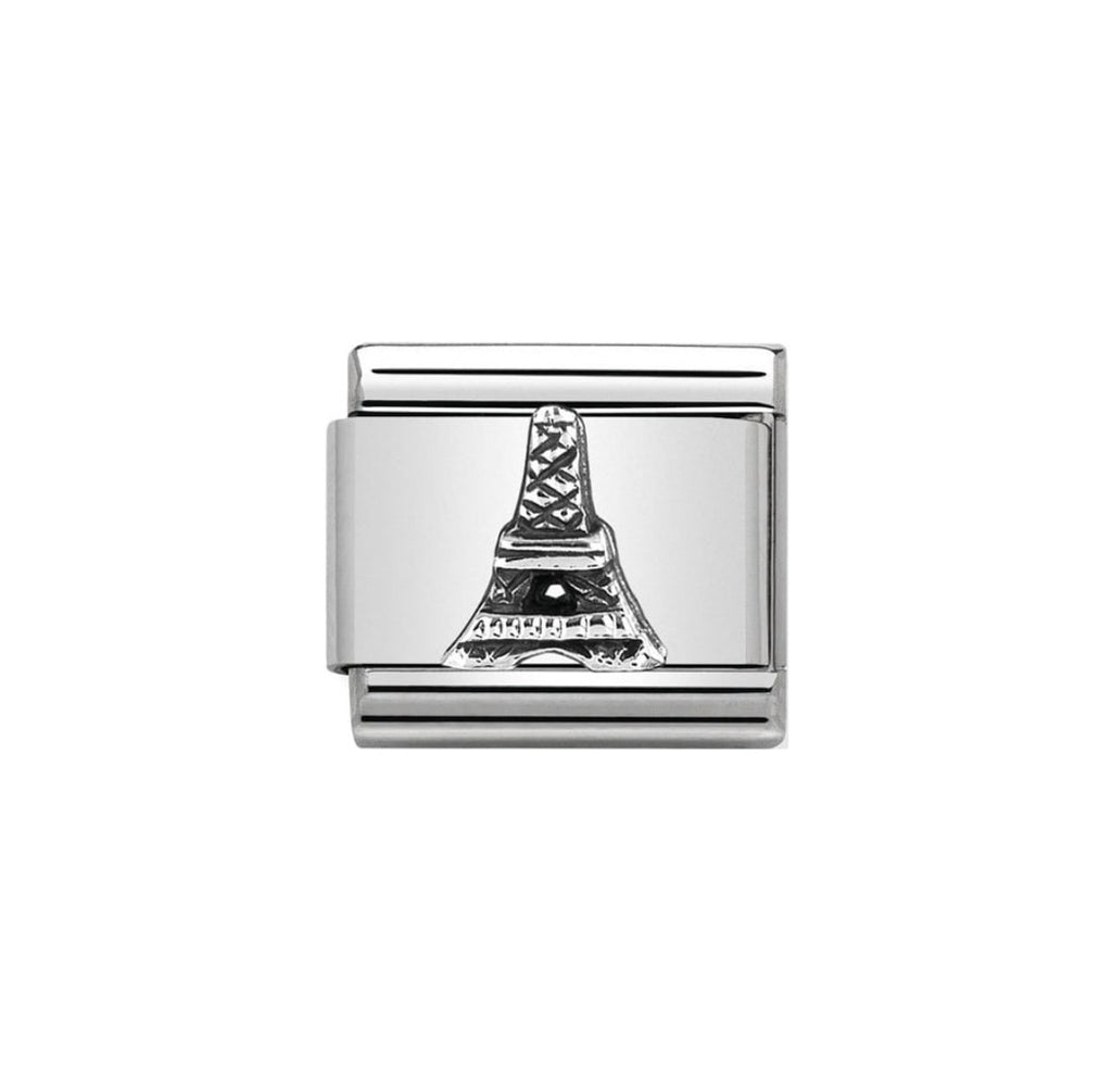 Nomination Classic Silver Eiffel Tower Charm - S&S Argento
