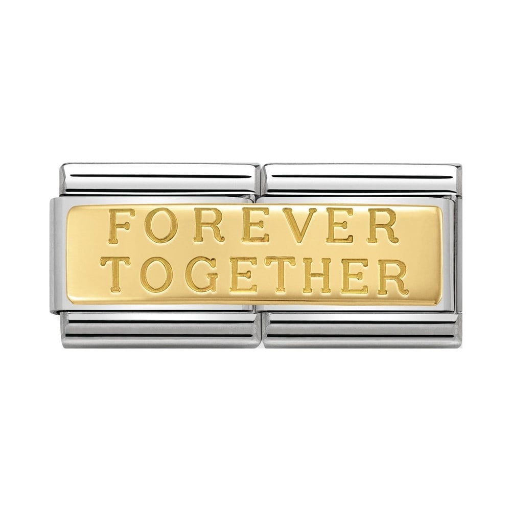 Nomination Classic Gold Forever Together Double Charm