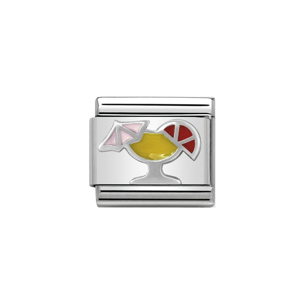 Nomination Classic Silver Cocktail Charm - S&S Argento