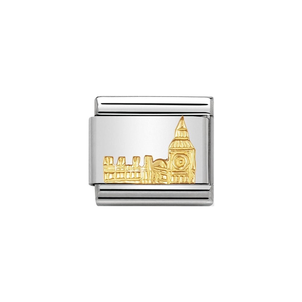 Nomination Classic Gold Big Ben Charm - S&S Argento