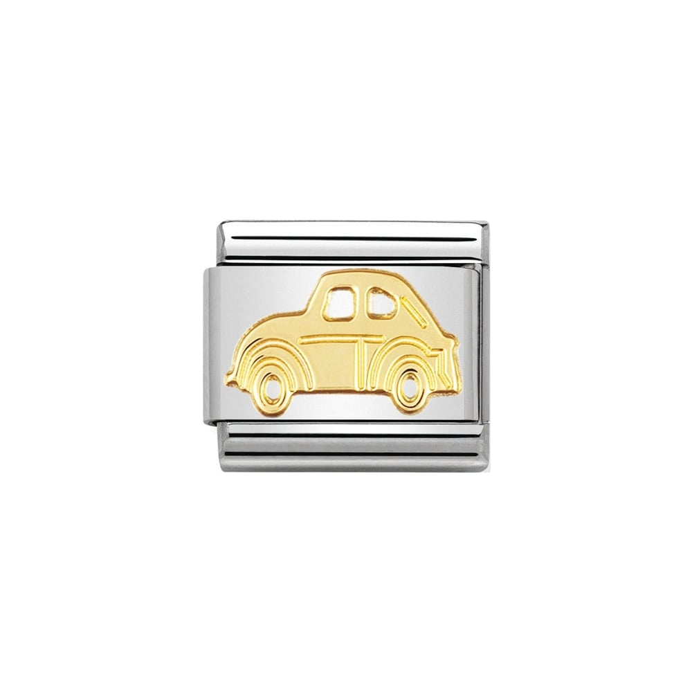 Nomination Classic Gold Car Charm - S&S Argento