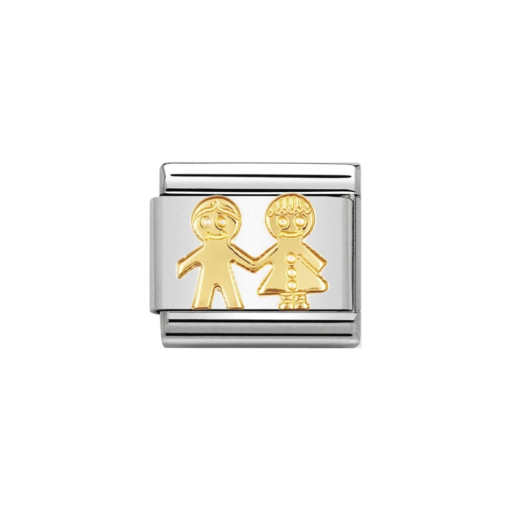 Nomination Classic Gold Children Charm - S&S Argento