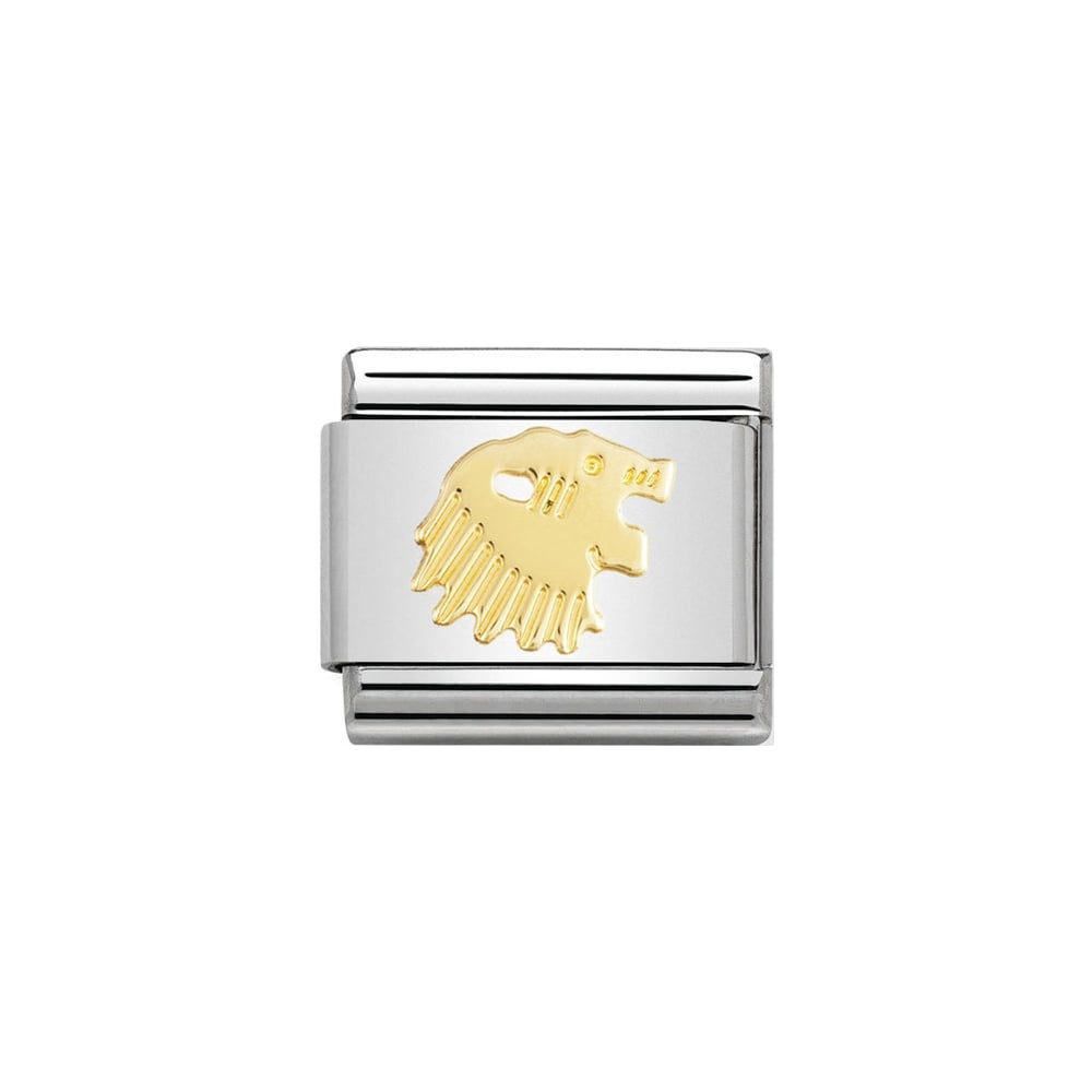 Nomination Classic Gold Leo Charm - S&S Argento