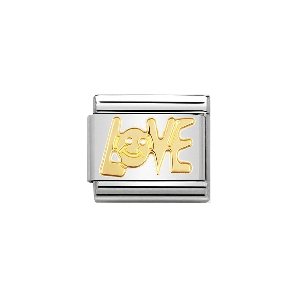 Nomination Classic Gold Love Charm - S&S Argento