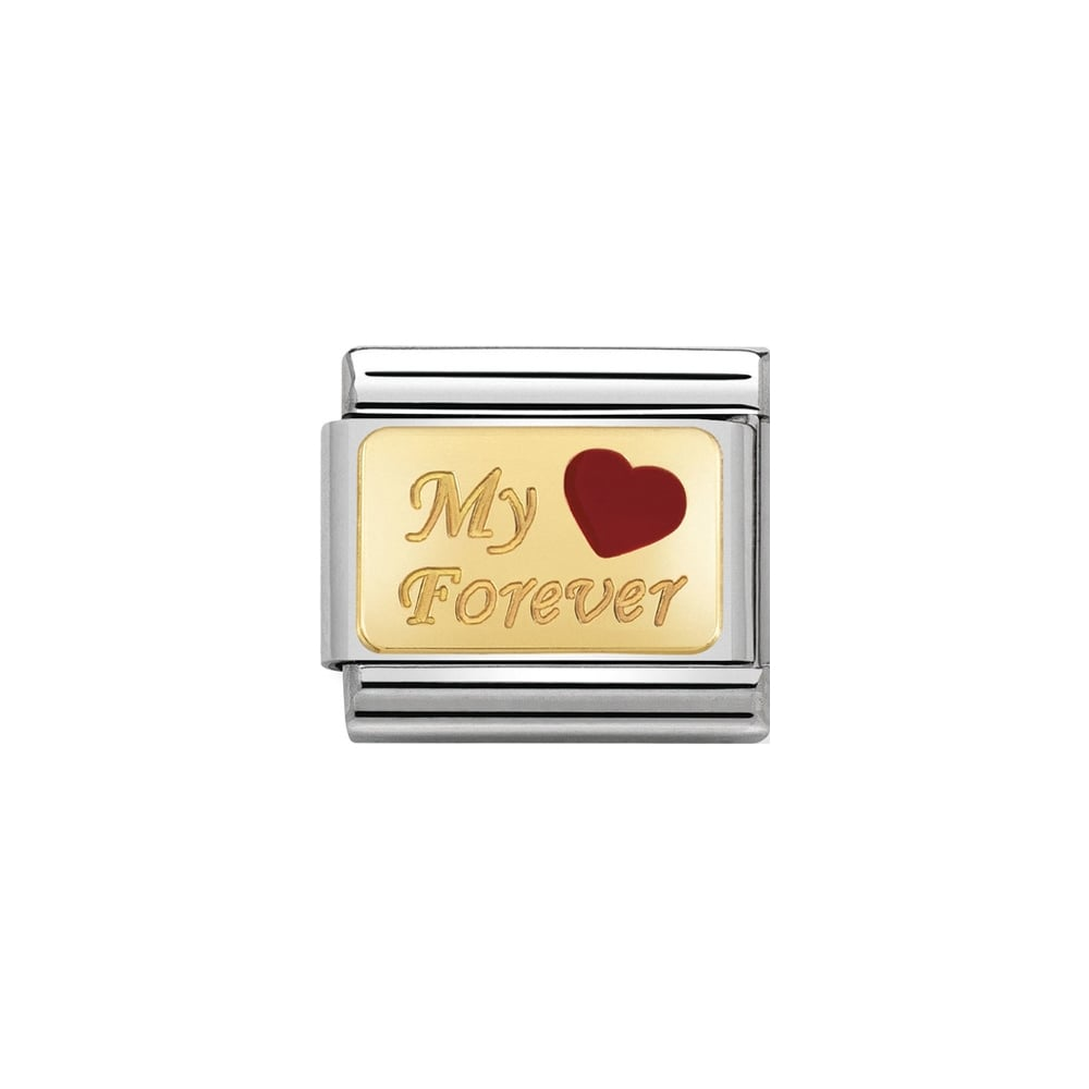 Nomination Classic Gold My Forever Charm