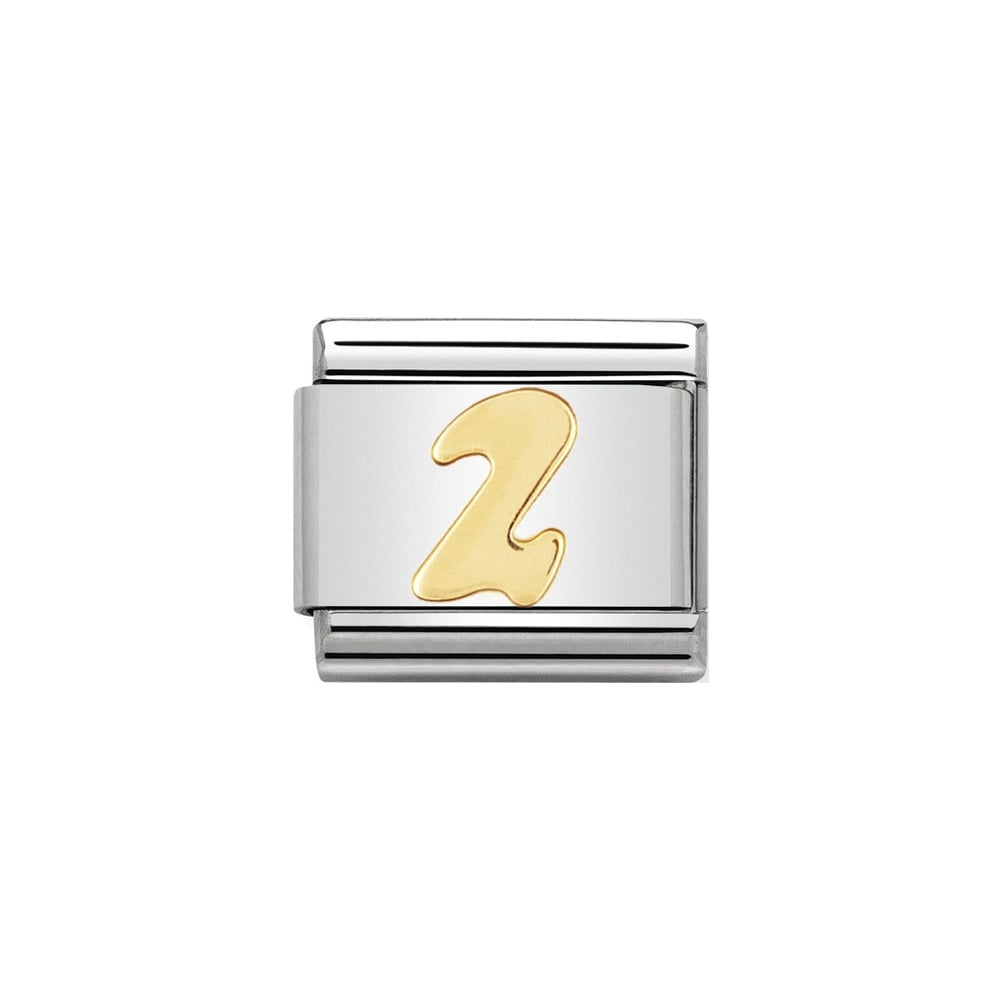 Nomination Classic Gold Number 2 Charm - S&S Argento