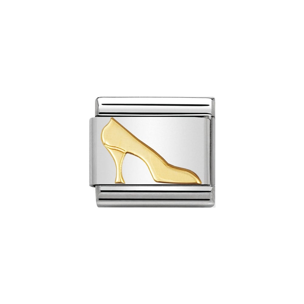 Nomination Classic Gold High Heel Shoe Charm - S&S Argento