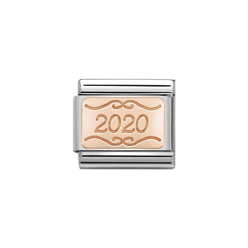 Nomination Classic Rose Gold 2020 Plate Charm