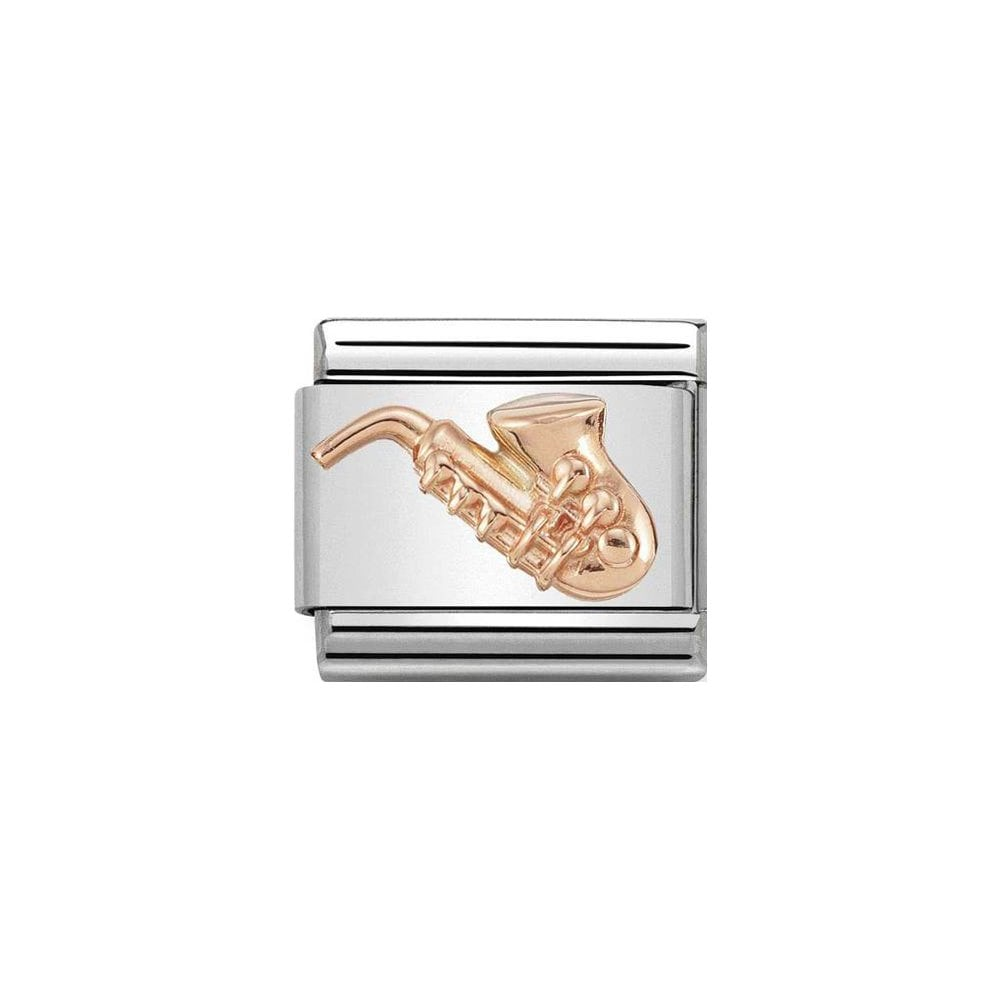 Nomination Classic Rose Gold Saxophone Charm