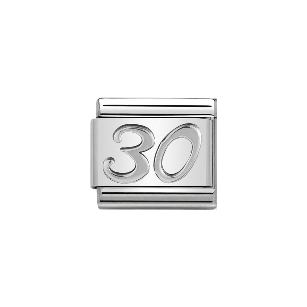 Nomination Classic Silver 30 Charm - S&S Argento