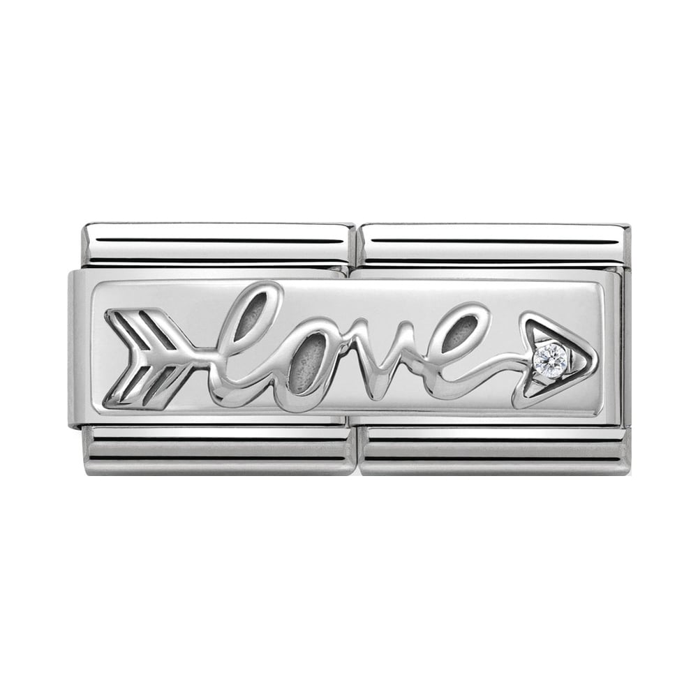 Nomination Classic Silver Arrow Love Double Charm - S&S Argento
