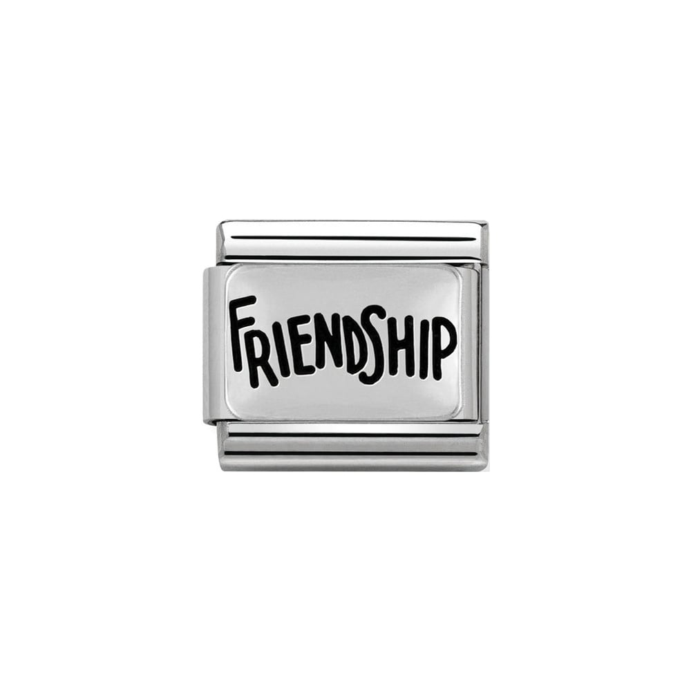 Nomination Classic Silver Friendship Charm - S&S Argento
