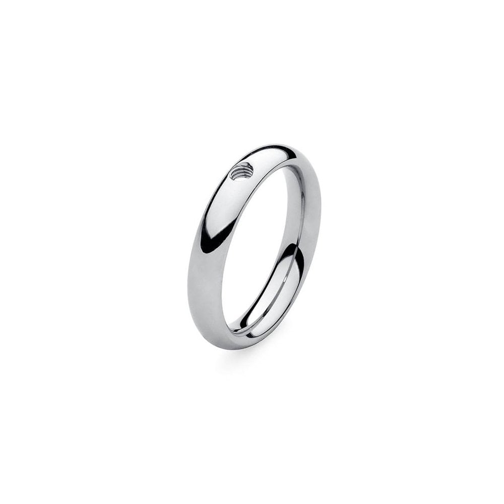 Stainless Steel Slim Ring - S&S Argento