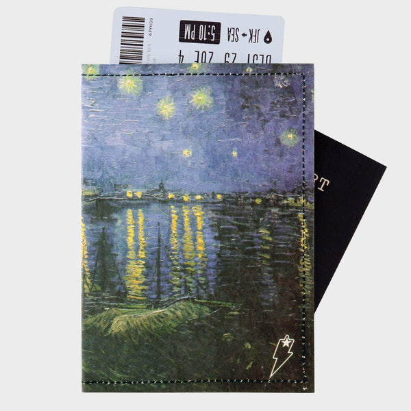 Starry Rhone Night Travel Wallet - supervek