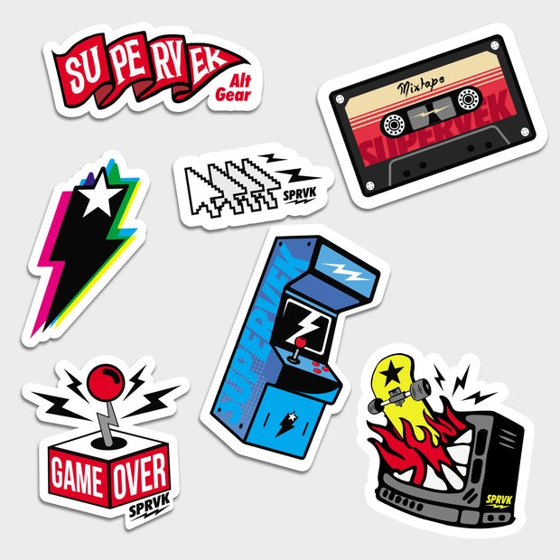 Retro Stickers
