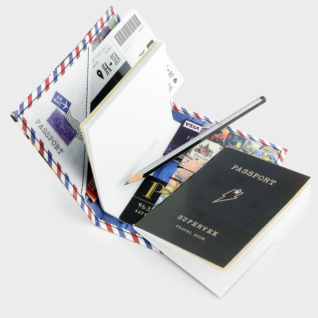 Travel Wish List Travel Wallet - supervek