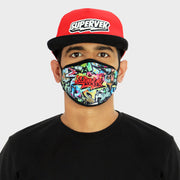 Graffiti Face Mask
