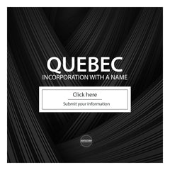 Quebec Numbered Incorporation with a name