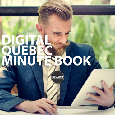 Digital Quebec Minute Book