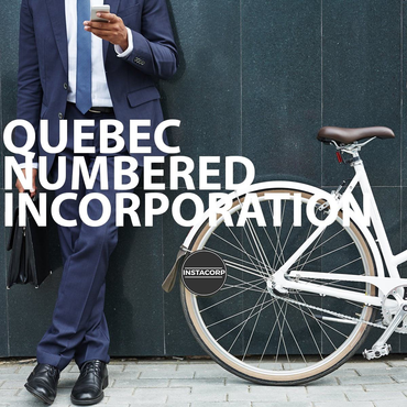 Quebec Numbered Incorporation