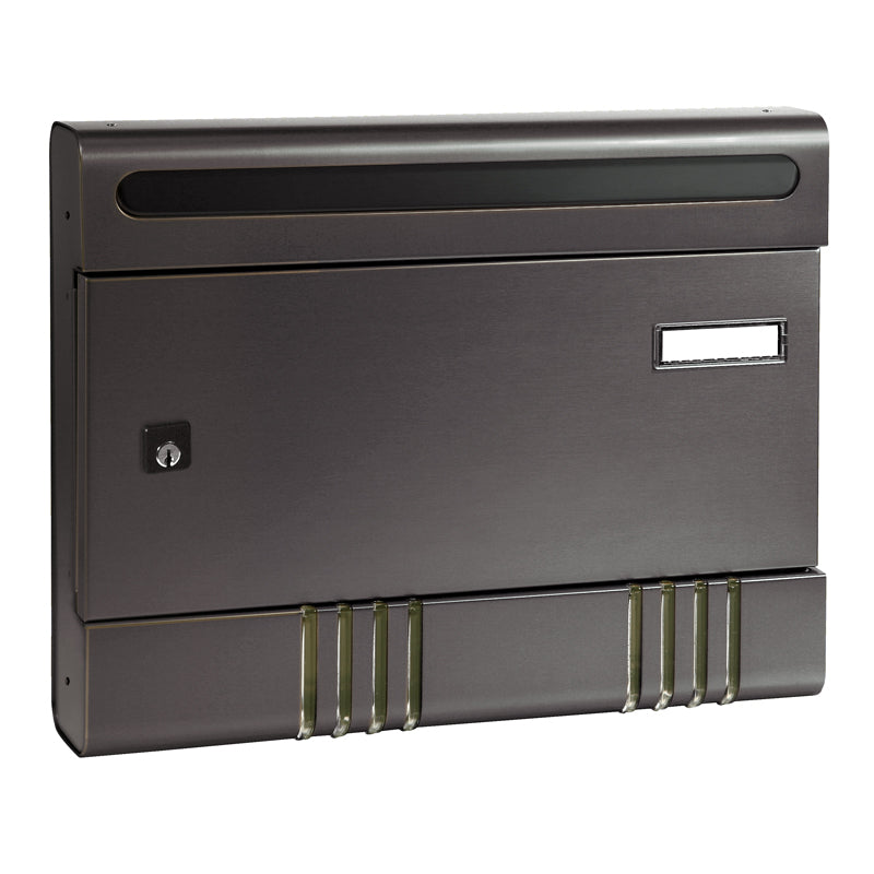 Wall Mounted Aluminium Sire Letterbox