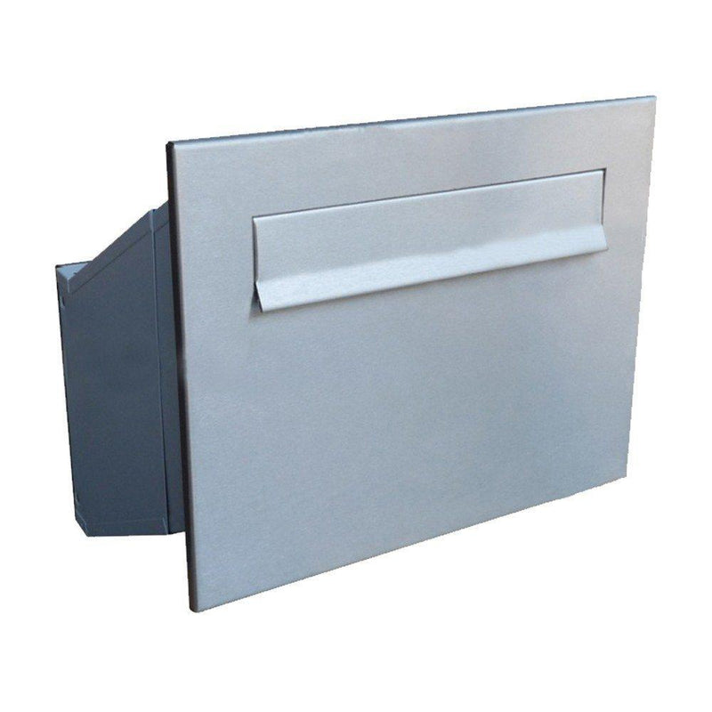 LDD-241 Through wall letter chute with stainless steel front plate