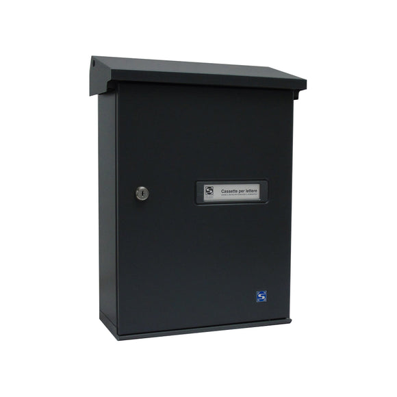 External Powder Coated Wall Mounted Letterbox Secure lockable Post Box