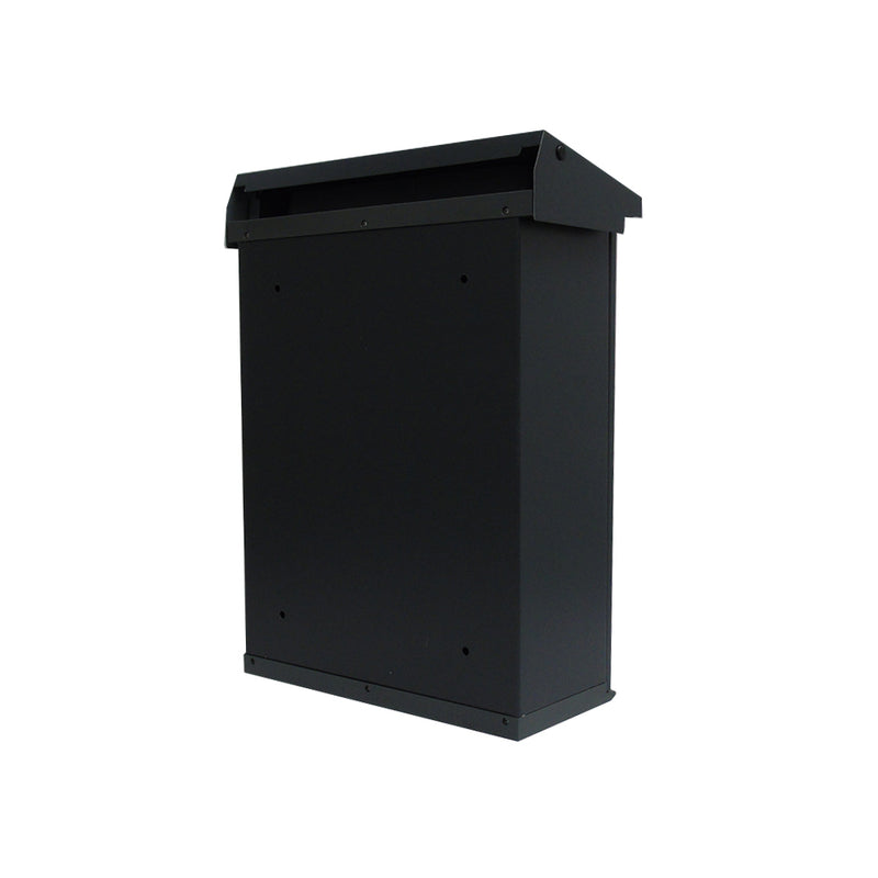 Lockable Post Box Powder Coated External Mounted Letterbox