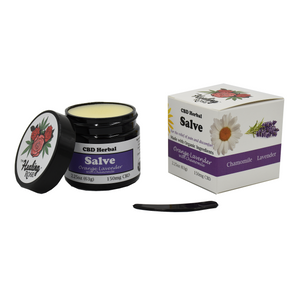 The Healing Rose Herbal Salve - Orange Lavender with Chamomile 2.25oz