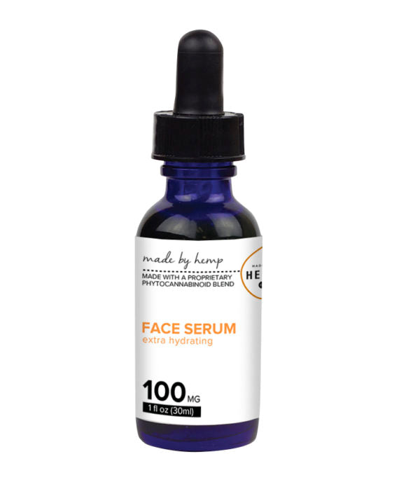 Hydrating Hemp Face Serum (100mg CBD) 1oz