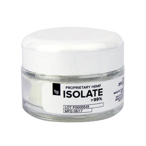 Proprietary Hemp Isolate 99.9%