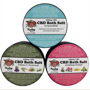 The Healing Rose - 3 Pack of Bath Salts