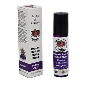 The Healing Rose - Relax & Restore Roll On Blend 0.35oz