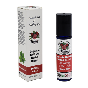 The Healing Rose - Awaken & Refresh Roll On Blend 0.35oz